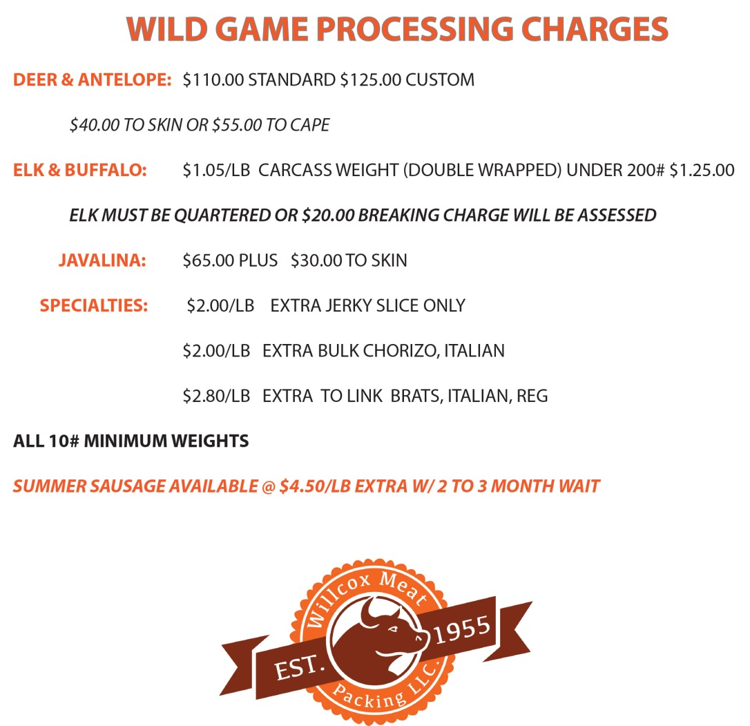 WILDGAMEcharges